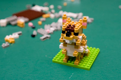 nanoブロックでソマリをつくる